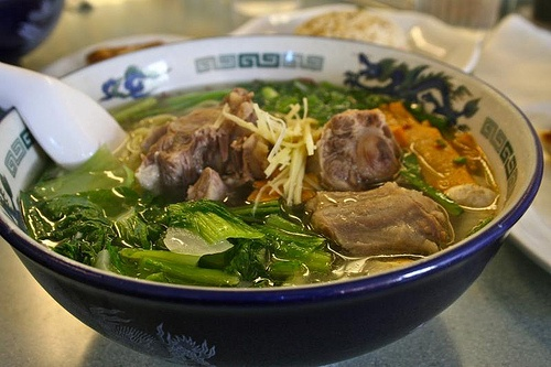 Logan's oxtail ramen with shio broth | Soups and Salads | Pinterest
