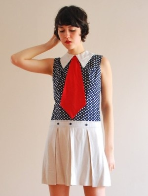 another ska inspired mod dress