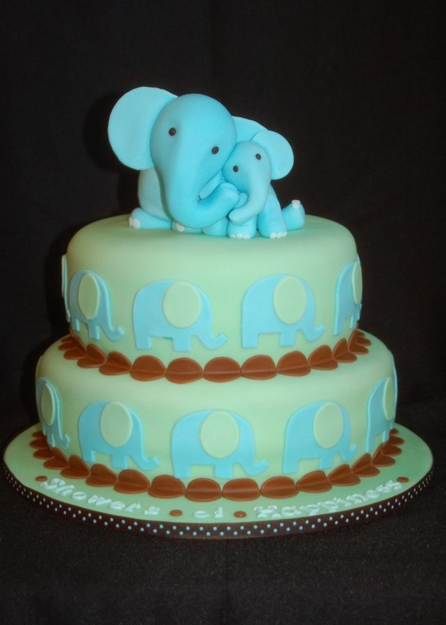 elephant baby shower cake baby shower baby shower ideas