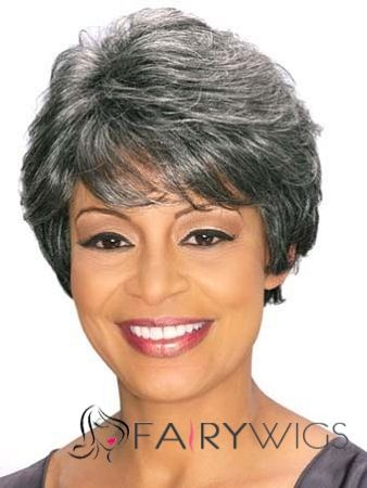 Short Pixie Grey Wigs For Women Over 50 | Search Results | Hairstyle ...