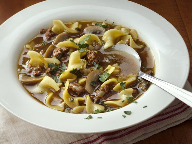Easy Beef and Pasta Soup | Recipe