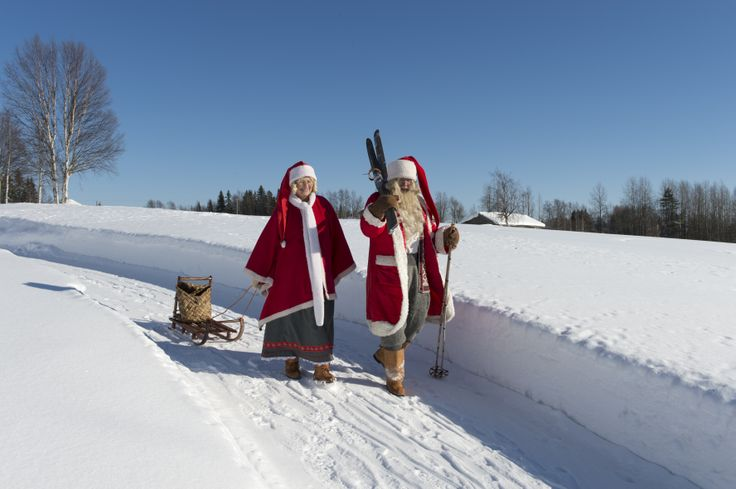 lapland father christmas day trips