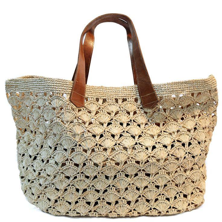 Crochet Tote : Mar Y Sol Rafia Crochet Tote My Style Pinterest