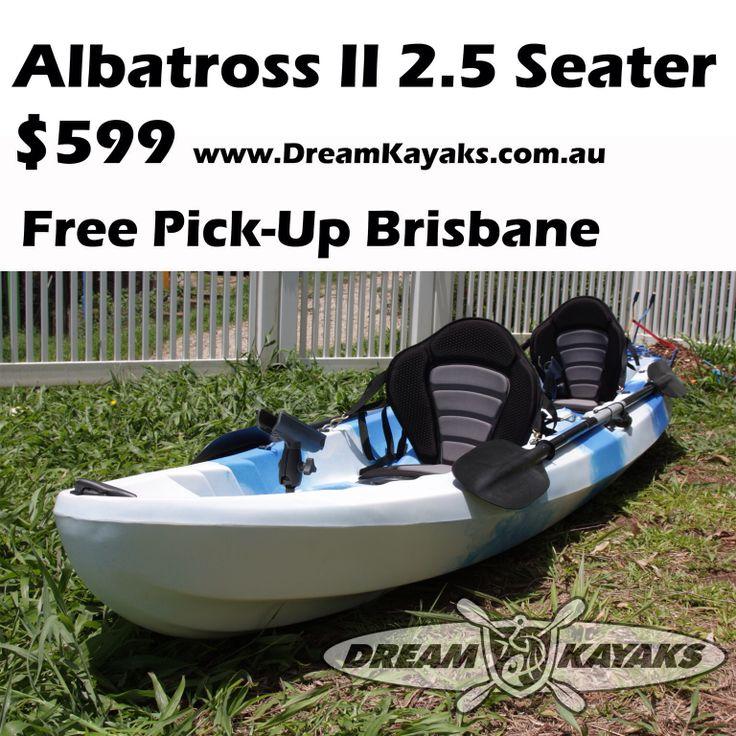 Pin by dream kayaks on double kayaks pinterest for 2 seater fishing kayak