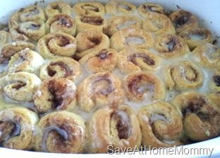 Pinterest Recipe Review: Itty Bitty Cinnamon Roll Bites! HEAVENLY!
