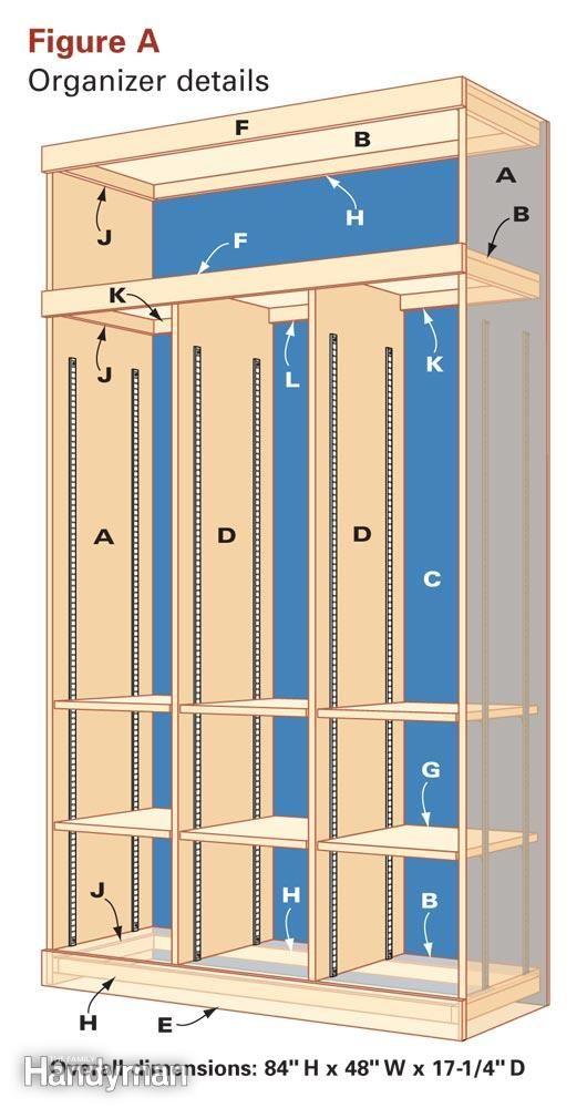 Foyer Locker Storage : Entryway storage and organizer
