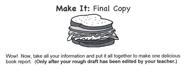 write book report third grade