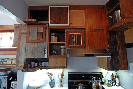 Mismatched Cabinets For The Win A Good Idea Pinterest