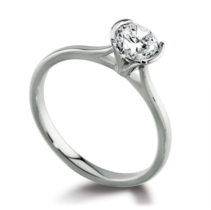 Pinterest Wedding Rings Diamond Ring Silver Platinum Engagement Rings Pinterest