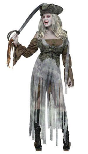 halloween ghost pirate costume