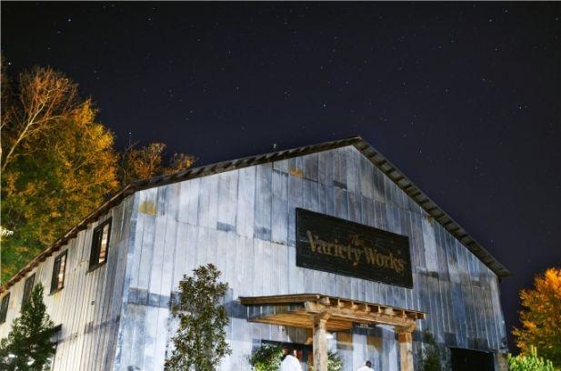 Kim chris rustic barn wedding at the variety works - Le petit jardin madison ga toulouse ...