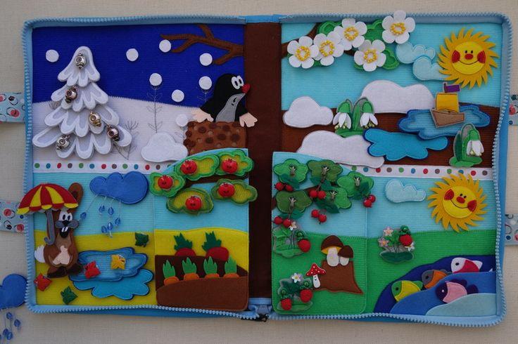 Книжка своими руками в детский сад из фетра