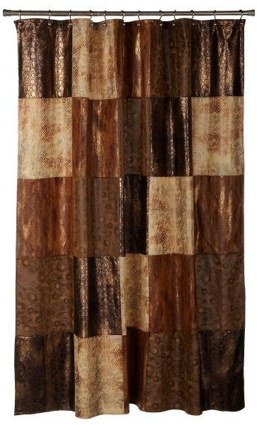 Western shower curtain Home Sweet Home