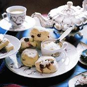 Sour Cherry Scones and Ginger-Marmalade Cream, Recipe from Cooking.com ...