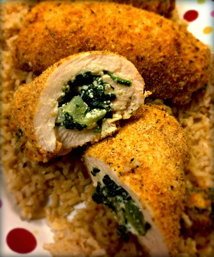 Feta & Spinach Stuffed Chicken | Favorite Recipes | Pinterest