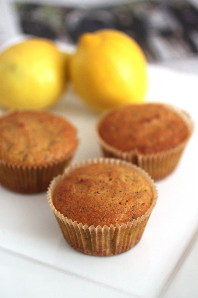 Lemon Poppy Seed Muffins - To make low carb just replace the maple ...
