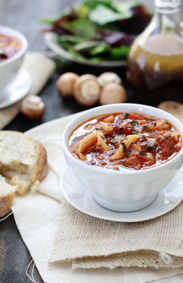 Easy Tomato Florentine Soup | Recipe