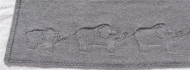 Knitting Pattern Baby Blanket Elephant : elephant baby blanket Knit Pinterest