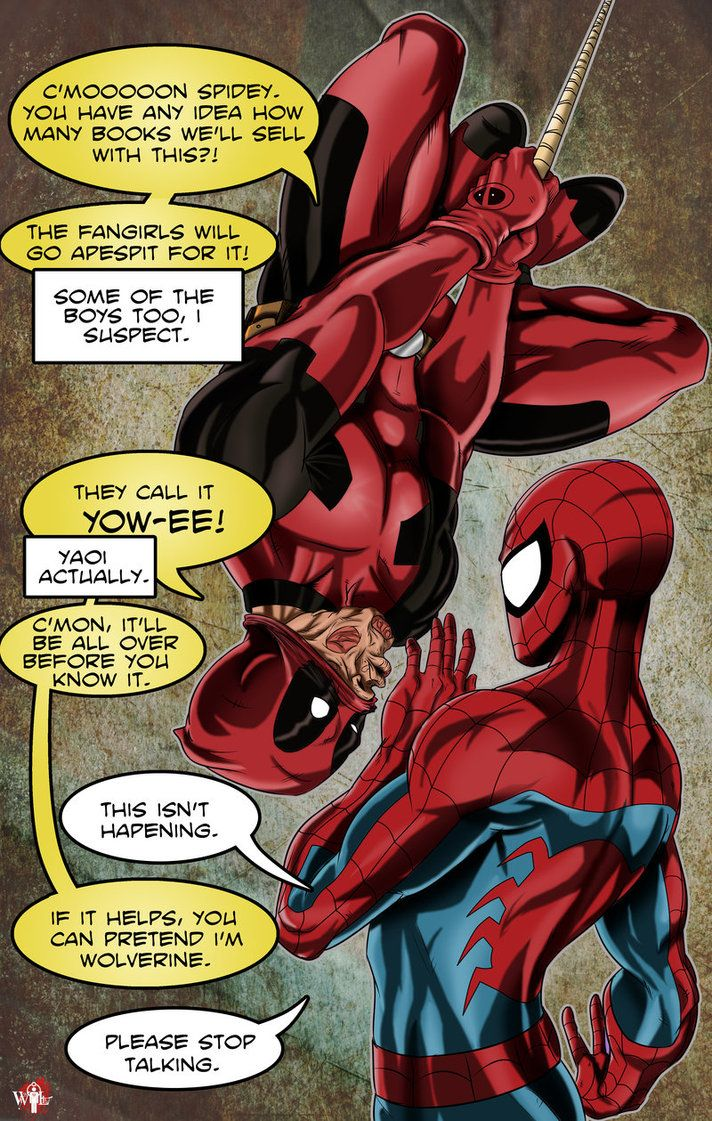 deadpool and spiderman comic - photo #4