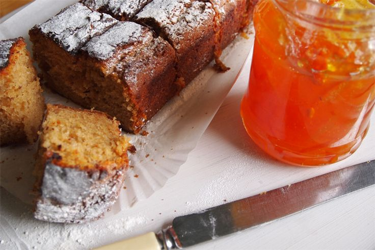 Egg free ginger and marmalade cake | recipes | Pinterest