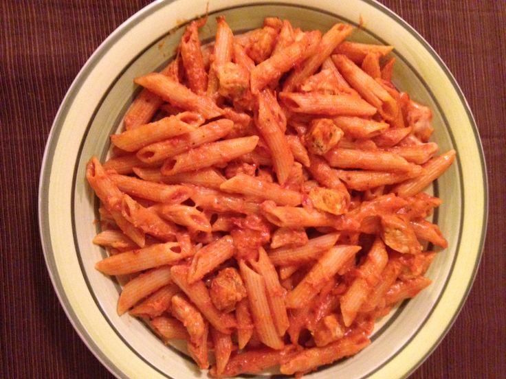 Chicken Mozzarella Pasta | Food | Pinterest
