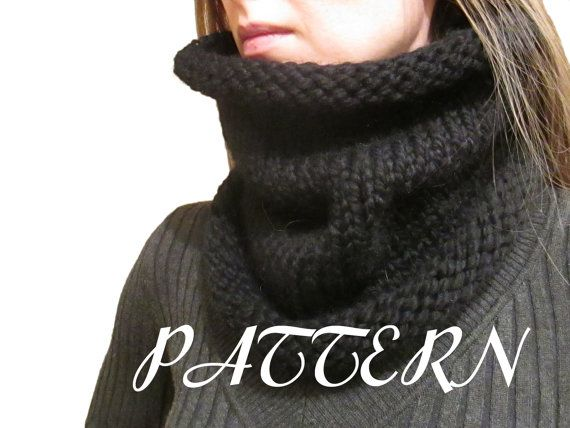 Wool Ease Thick And Quick Knitting Patterns : Knit Cowl Pattern - Cowl Knitting Pattern - Lion Brand Wool Ease Thic?