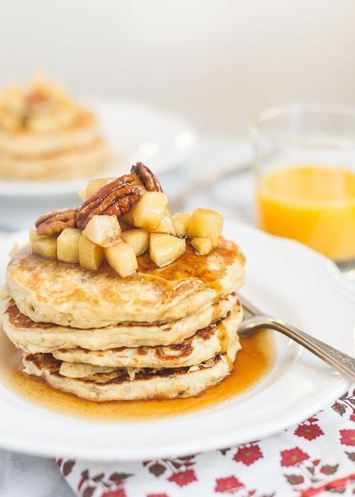 Oatmeal Pancakes | Recipes/Food | Pinterest