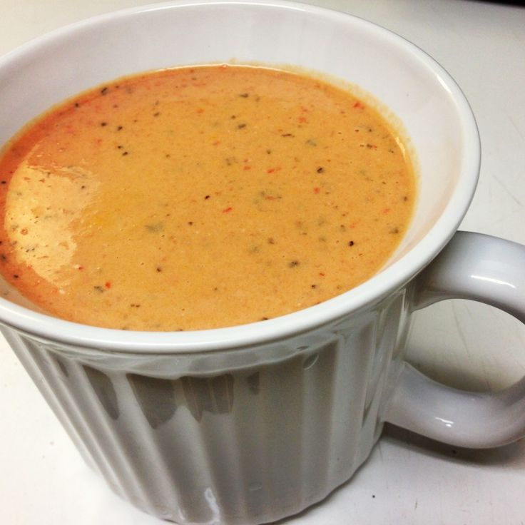 tomato-pepper gorgonzola soup- had this at Erin's shower, loved it!
