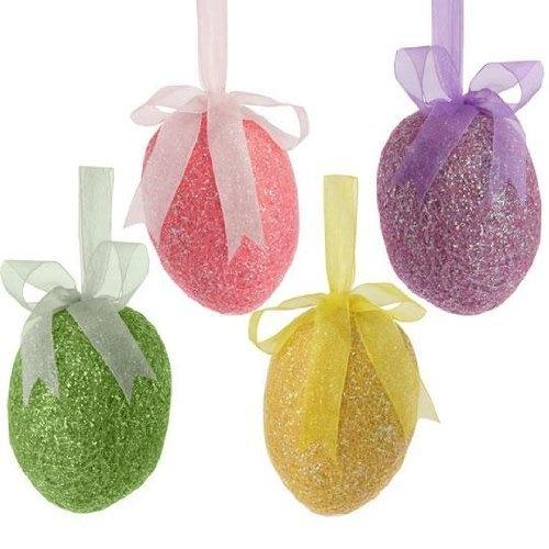 Glittered Easter Eggs | Easter Decorating & Recipes | Pinterest