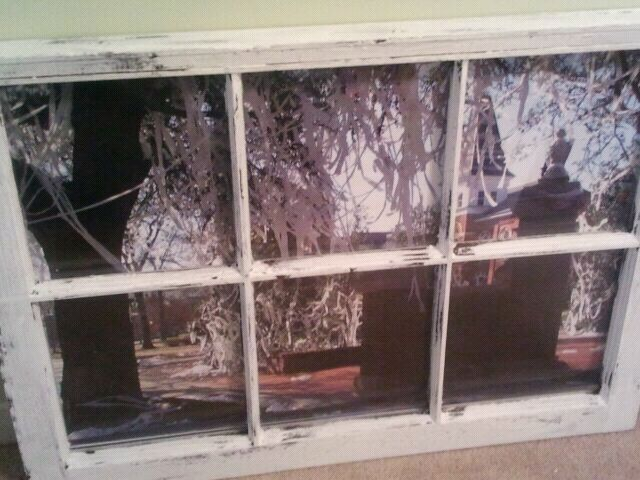 Toomer's Corner window