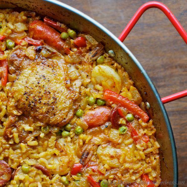chicken paella | Yummy | Pinterest