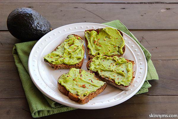 Avocado Breakfast Toast is a favorite quick & easy healthy breakfast ...
