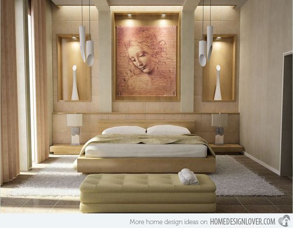 15 Bedroom Designs With Earth Colors Zen Interiors Decor