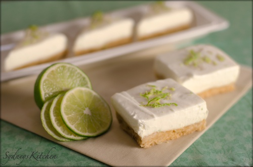 Key Lime Bars with macadamia nut crust | Es necesario que usted coma ...
