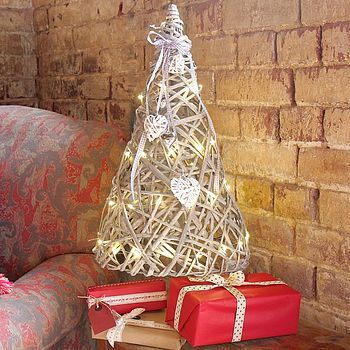 ... Hearts Christmas Tree With LED Lights £47 from Not On The High Street