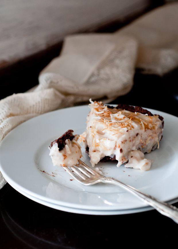 Black-Bottom Coconut Cream Tart (Vegan and Gluten-free) | Cafe ...