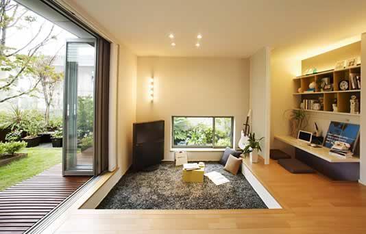 Pit Type Living Room Dream Home Pinterest