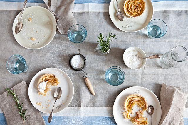 White Peach Tartelettes With Rosemary Sugar by tartelette, via Flickr ...