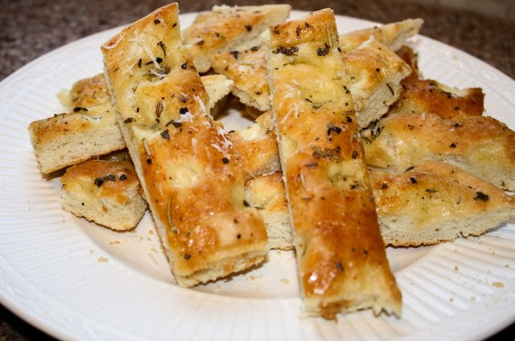 rosemary focaccia bread | Yeast Or No Yeast | Pinterest