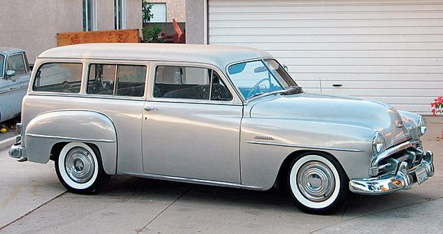1951 plymouth suburban the short lived 2 door wagon for 1951 plymouth 2 door