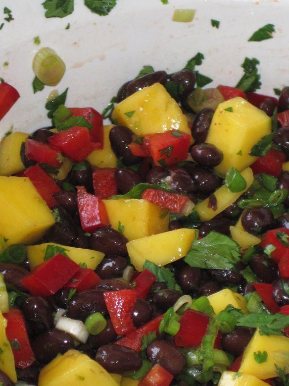 mango black bean salad | Vegetables | Pinterest
