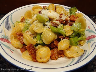 Orecchiette with Spicy Sausage and Baby Broccoli Florets