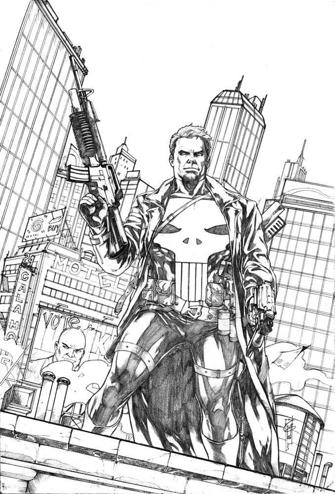 The Punisher by Garrie Gastonny : Comic Art: The Punisher : Pinterest
