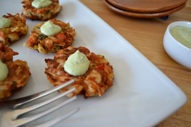 Gluten Free Crab Cakes & aioli sauce. Makes 12 Cakes (do not use ...