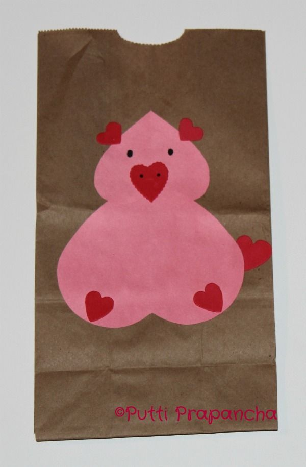 valentine's day pig stuffed animal
