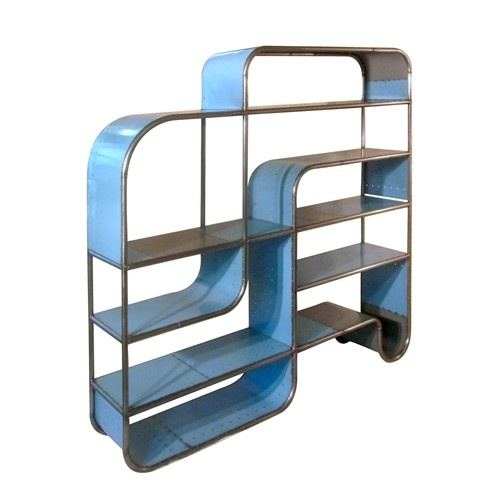 Playground Bookcase from Orbus Collection by Rustbelt Rebirth