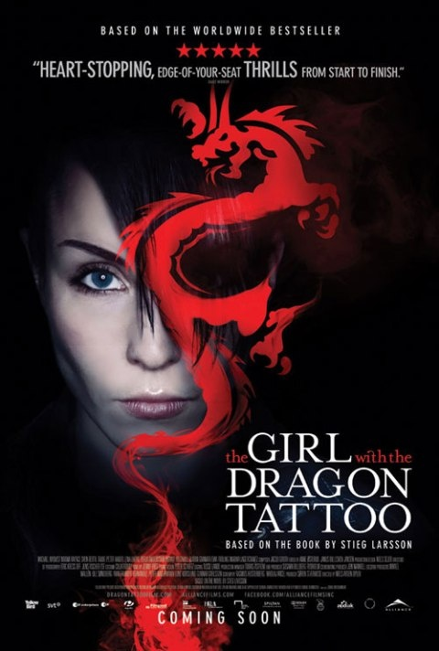 The girl with the dragon tattoo movies and tv series for Book series girl with the dragon tattoo