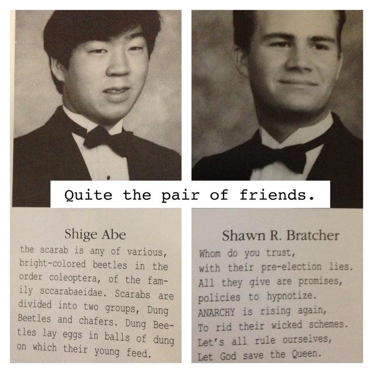 Senior quotes! Hilarious.