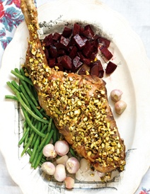 Lamb thigh w/ pistachio | Trying recipes | Pinterest