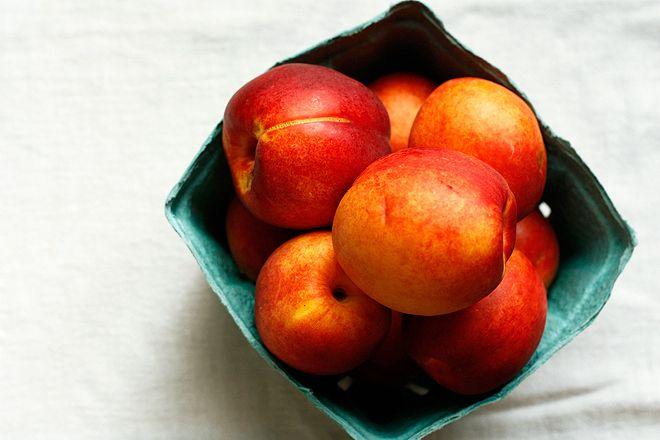Nectarine ginger preserves for pie | CANNING / MASON JARS | Pinterest